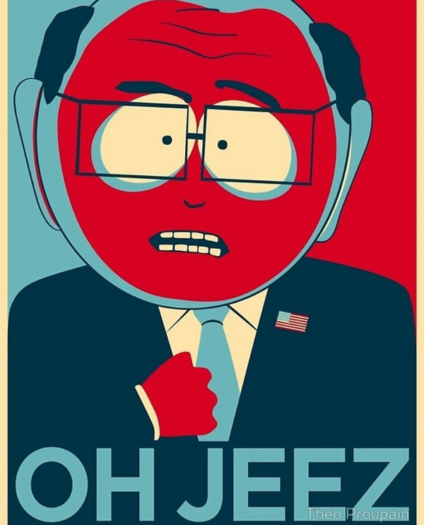 В связи с последними событиями South park, Comedy central, Выборы, Трамп, Клизма, Giant douche