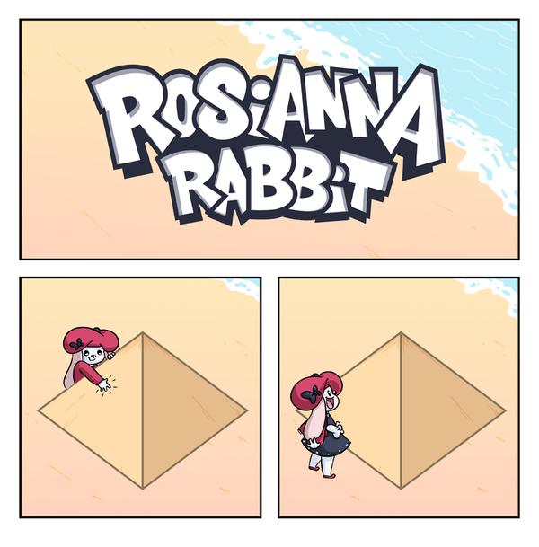 Перспектива Rosianna rabbit, Комиксы, перспектива