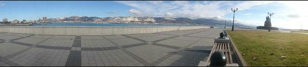 Панорама Новороссийска Новороссийск, Цемесская бухта, Фото, панорама, Sony Xperia Z1 compact, красивое, пейзаж, набережная