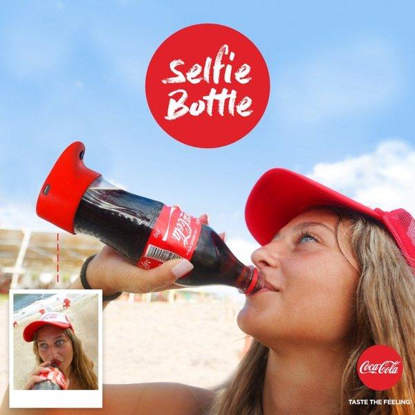 Селфи-бутылка от Кока-Колы