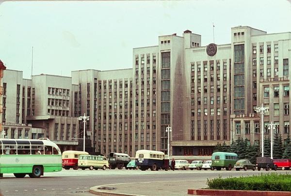 Белоруссия 1964 г. в цвете Беларусь, 60-е, Минск, БССР, Дюпакье, Длиннопост