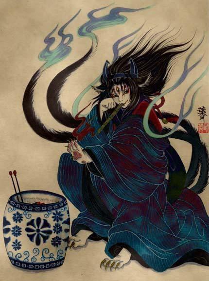 Кот в японской мифологии