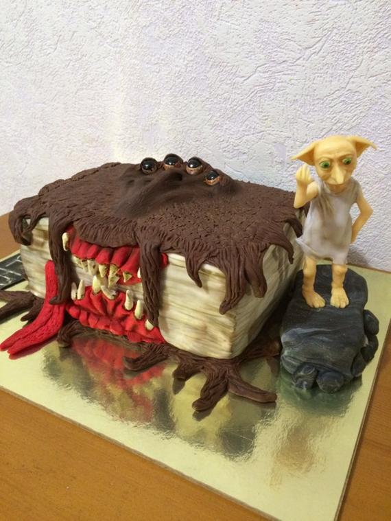 """Заказ торта у кондитера, или """"Ожидание и реальность"""". Ожидание и реальность, Торт, Гарри Поттер, Фото, Добби, Длиннопост"""