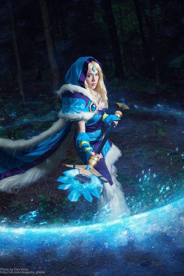 Crystal Maiden - Dota 2 Crystal maiden, Dota, Dota 2, Cosplaydota2, Игры, Косплей, Длиннопост