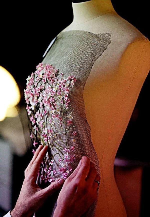 Ювелирная вышивка , красота в деталях Мода, От кутюр, Длиннопост