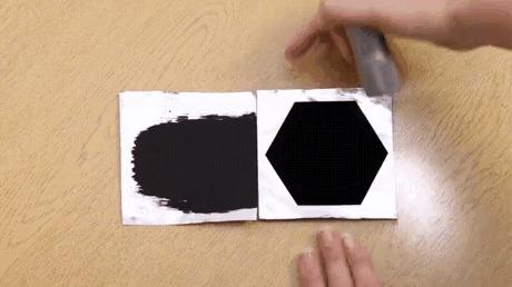 Вантаблэк (Vantablack) - самое черное из известных веществ. Поглощает 99,965 % света.