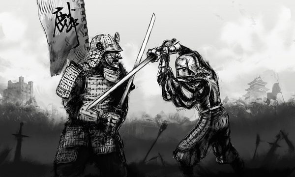 knights vs samurai Fun facts about medieval japan 1 in medieval europe they had knights' but in medieval japan they had in medieval times a samurai had to always be ready.