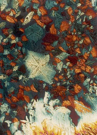 Микрофото в поляризованном свете Микросъёмка, Кристаллы, Поляризация, Фотохимия, Фото, Длиннопост