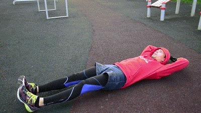15+1 упражнений для пресса и мышц кор. спорт, пресс, упражнения, тренировка, гифка, длиннопост