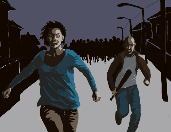 Зомбилэнд Зомби, Выжившие, Иллюстрации, Цифровой рисунок