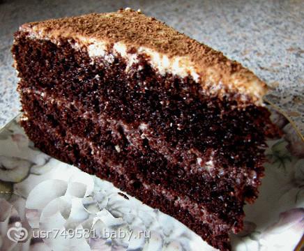 рецепт простого торта в мультиварке