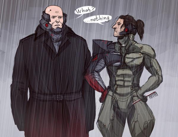 Небольшой комикс по Rising: Revengeance Комиксы, Игры, Metal Gear Rising, Metal Gear, raiden