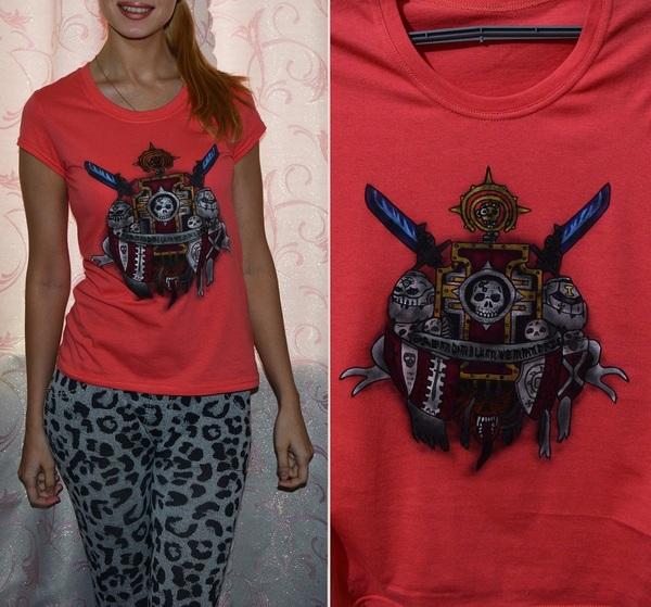 Ещё одна футболка Warhammer 40k