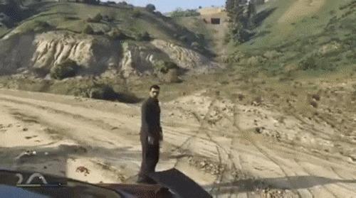 Селфи в GTA V: хороший кадр получился