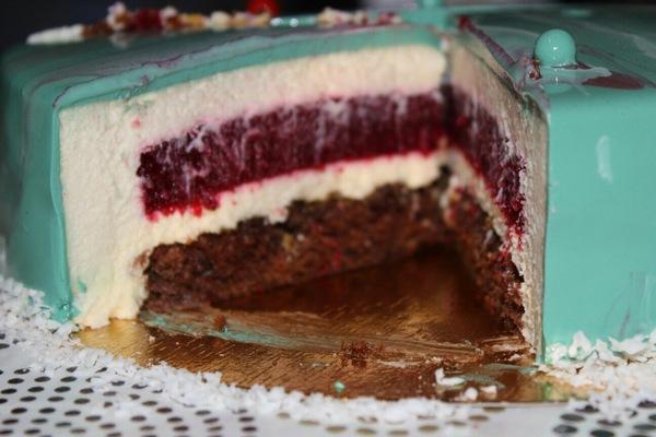 Ещё раз про муссовые торты. Торт, Кондитерские изделия, Глазурь, Длиннопост, Ставрополье