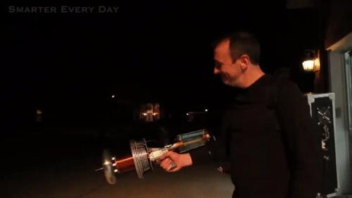 Пушка Тесла Гифка, Тесла, Катушка тесла, Красивое