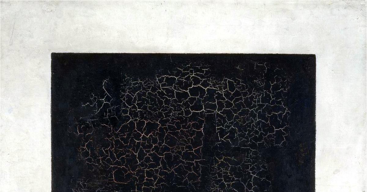 Малевич черный квадрат картинки