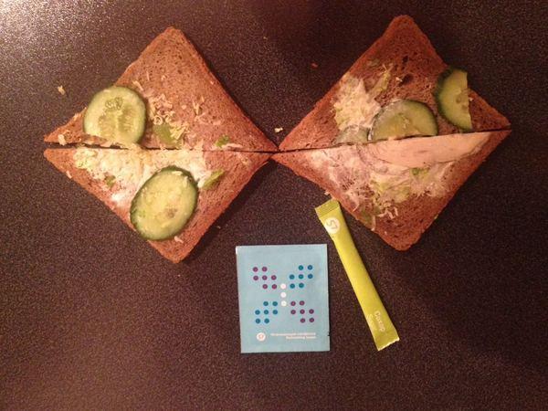 Эконом бутерброд от S7 Самолет, S7, Сендвич, Экономия, Самолётная еда, Длиннопост