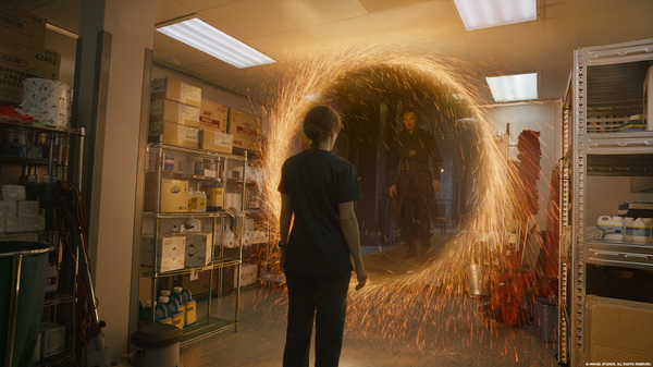 Спецэффекты фильма «Доктор Стрэндж» Фильмы, Кадр из фильма, Доктор Стрэндж, Спецэффекты, Marvel, Фото со съемок, Длиннопост