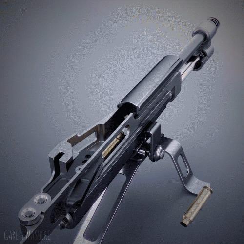 Принцип работы различных видов оружия оружие, принципы, гифка, длиннопост