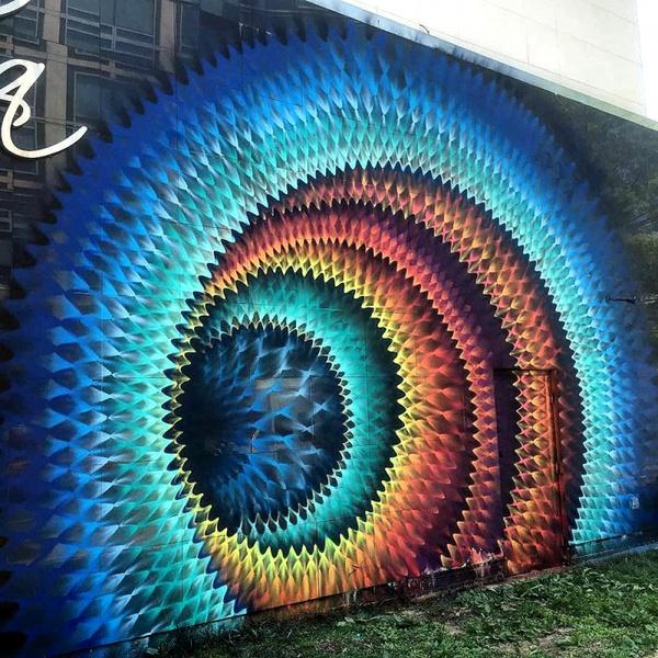 Стрит-арт-работы или другой мир Уличные художники, Стрит-Арт, Длиннопост