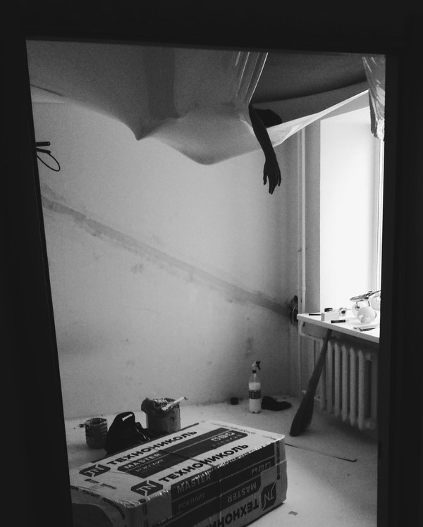 Ремонт в квартире студии (от застройщика) Часть третья, самая длинная и последняя. Ремонт, Студия, Новостройка, Квартира, Видео, Длиннопост