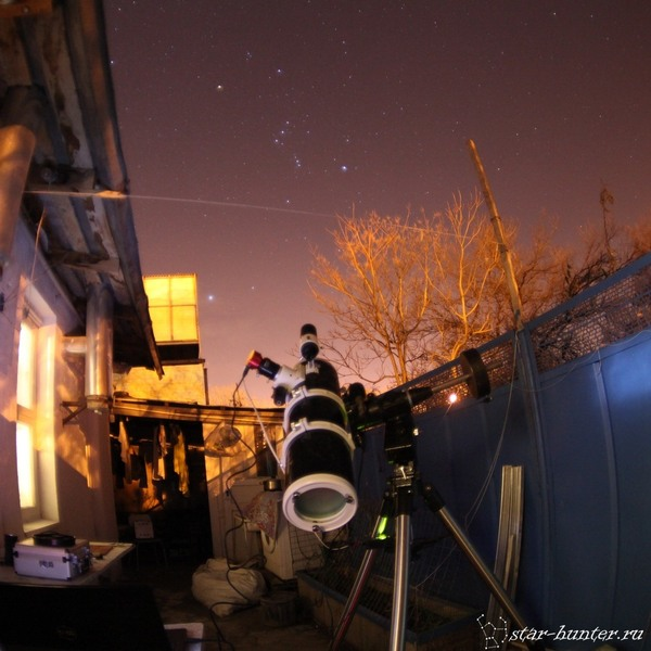 Туманность Ориона М42, 02\12\2016. Туманность ориона, Астрофото, Астрономия, Космос, Туманность, StarHunter, АнапаДвор