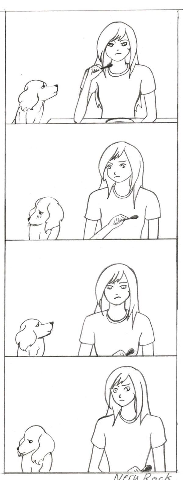 Попрошайка Комиксы, Собака, Попрошайки, Длиннопост
