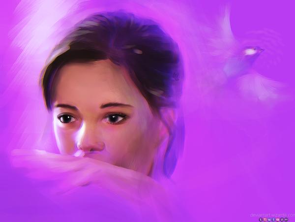 Портрет Рисунок, Портрет, Запах женщины