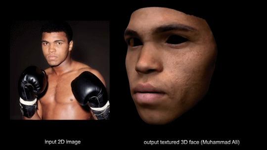 Американские учёные научили нейросеть создавать 3D-модель лица по фотографии 3D, 3d-Модель лица, Нейронные сети, Нейросеть vgg-19, Видео, Гифка, Длиннопост