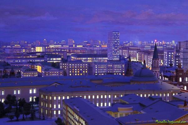 Москва - столица СССР. Чудо-диорама 1977 года Москва, Столица, СССР, Диорама, 1977, Дешалыт, Длиннопост