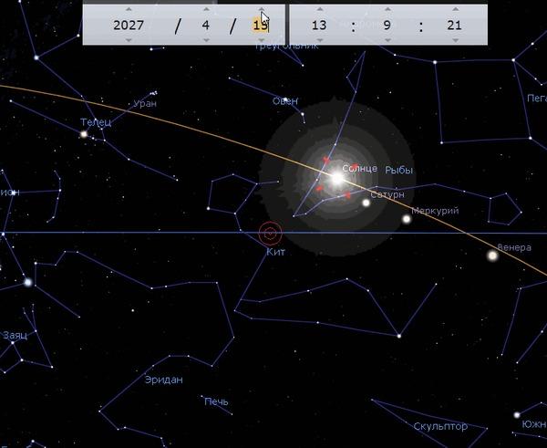Движение Солнца через зодиакальные созвездия Астрономия, Гифка, Интересное, Образование, Небо, Познавательно