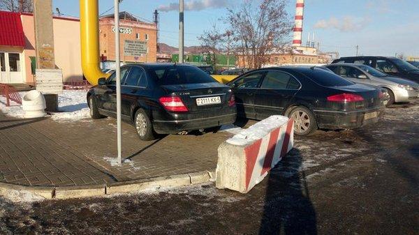 Радикальные меры Парковка, Хамство, Солигорск