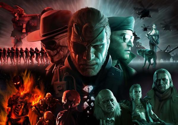 Подборка артов по Metal Gear Solid Игры, арт, Metal Gear Solid 5, Metal Gear Solid, длиннопост