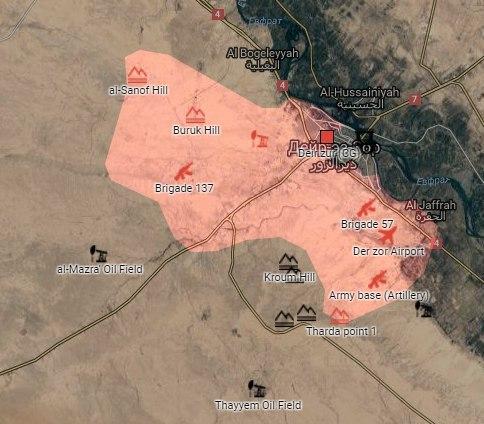Террористы ИГ атаковали позиции Сирийской Армии в Дейр-эз-Зоре ИГИЛ, Сирия, Россия, Политика, Дейр-Эз-Зор, Война, Видео