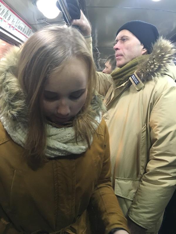 Сергей Дружко в метро Сергей Дружко, Необъяснимо но факт, Метро, Санкт-Петербург