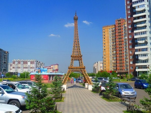 Париж? Нет, это Красноярск Россия, Красноярск, достопримечательности, не ЭйфелеваЯ башня а, эйфелева башня, длиннопост