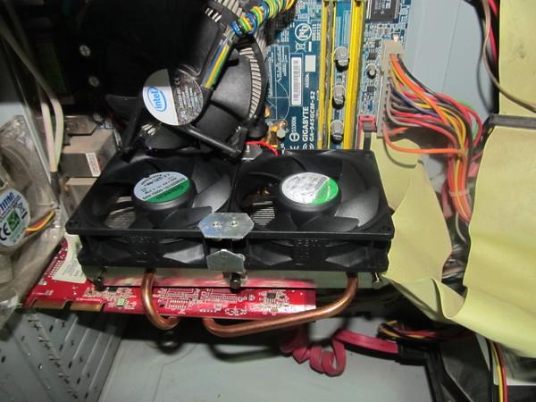 Турбо-охлаждение видеокарты. Компьютер, Чистка, Сервис, Кулер, Видеокарта