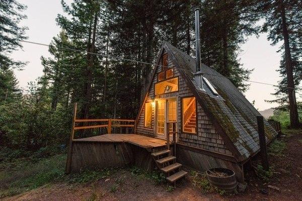 Уютный домик World of building, Сооружения, Строительство, Архитектура, Уют, Дом, Дизайн, Шалаш, Длиннопост