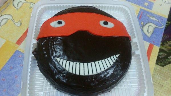 Торт черепашка-ниндзя: ожидание и реальность Торт, Рафаэль, Ожидание и реальность