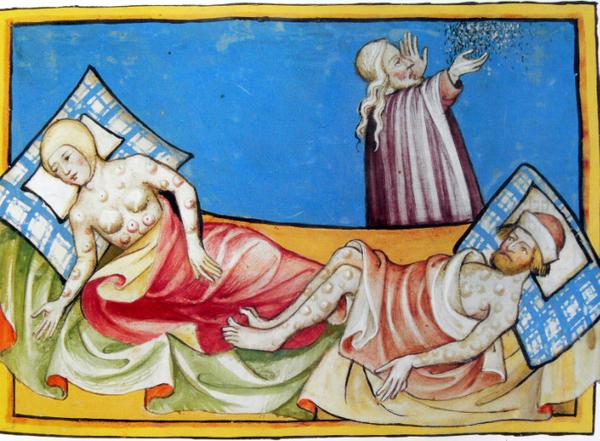 Очень интересное средневековое гадание