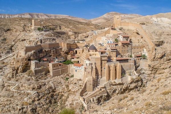Лавра Саввы Освященного (Мар Саба) фото, монастырь, туризм, израиль, религия, пустыня, красота