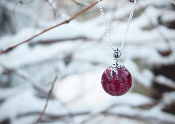 Пятничное мое, или Снег все делает лучше эпоксидная смола, кулон шар, украшения ручной работы, подарок девушке, Своими руками, зима, творчество, длиннопост
