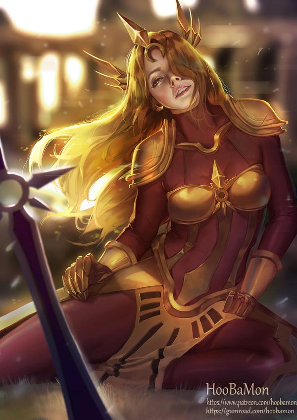 Солнечная дева