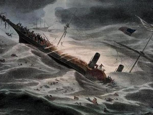 """История американца, который нашел клад на 100-150 млн $, скрылся с ним, а попав в тюрьму, """"забыл"""", где его спрятал. клад, затонувший корабль, мошенники, США, Золото, Хитрожопопость, длиннопост"""