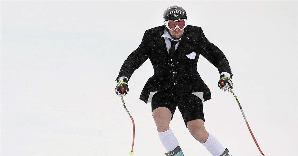 Картинки смешные лыжники
