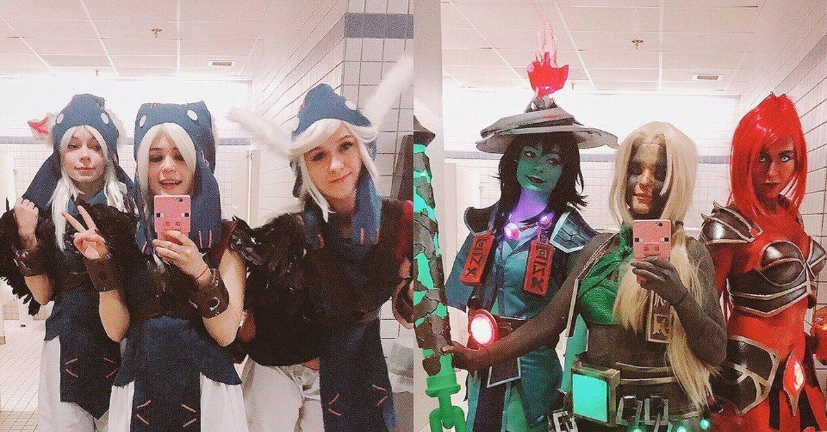 Конкурс костюмов дота фото