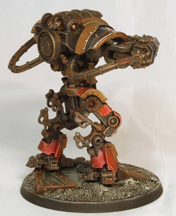 Mechanicum Domitar Warhammer 40k, Warhammer 30k, Forgeworld, Mechanicum, Покраска, Моделизм, Длиннопост