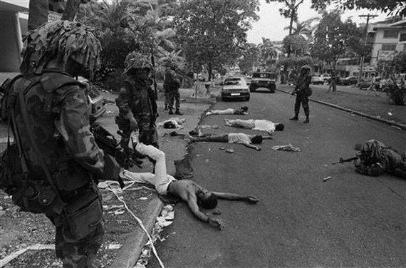 """Плохо мы помним деяния наших """"партнеров"""" США, Панама, Вторжение, Война, Политика, Длиннопост, Жесть"""
