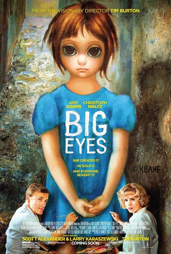 """Советую посмотреть: """"Большие глаза"""" (2014) Советую посмотреть, Глаза, Фильмы, Биография, Драма, Видео, Длиннопост"""